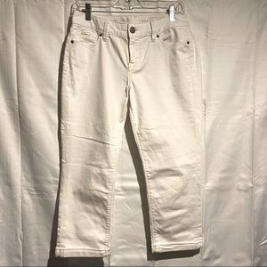 The Limited Brand Women's Jeans Size 6 Crop White